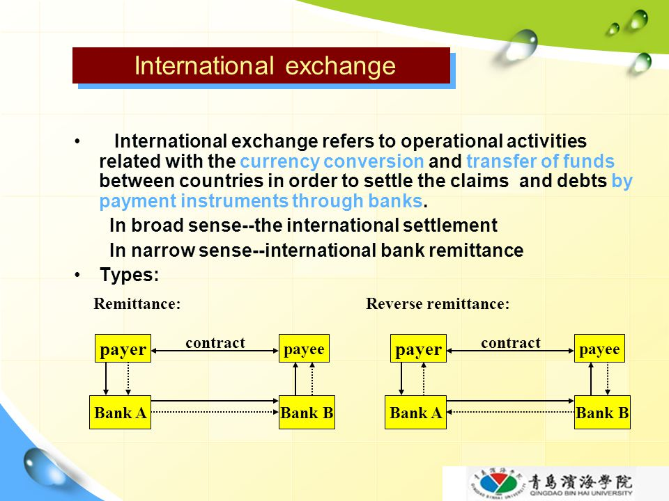 International exchange