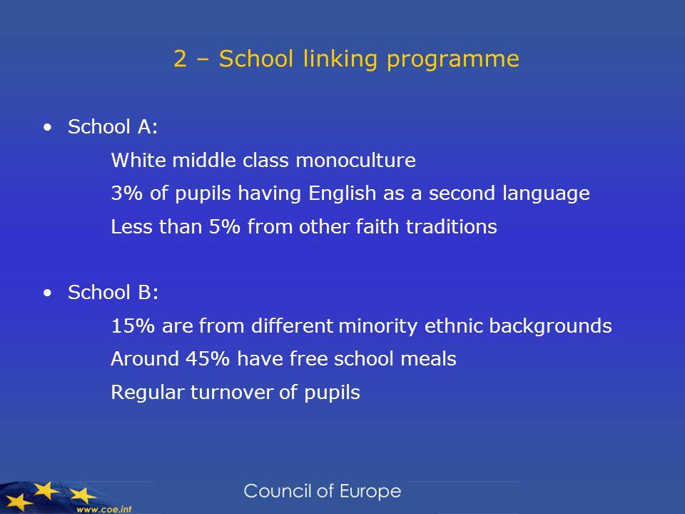 2 – School linking programme