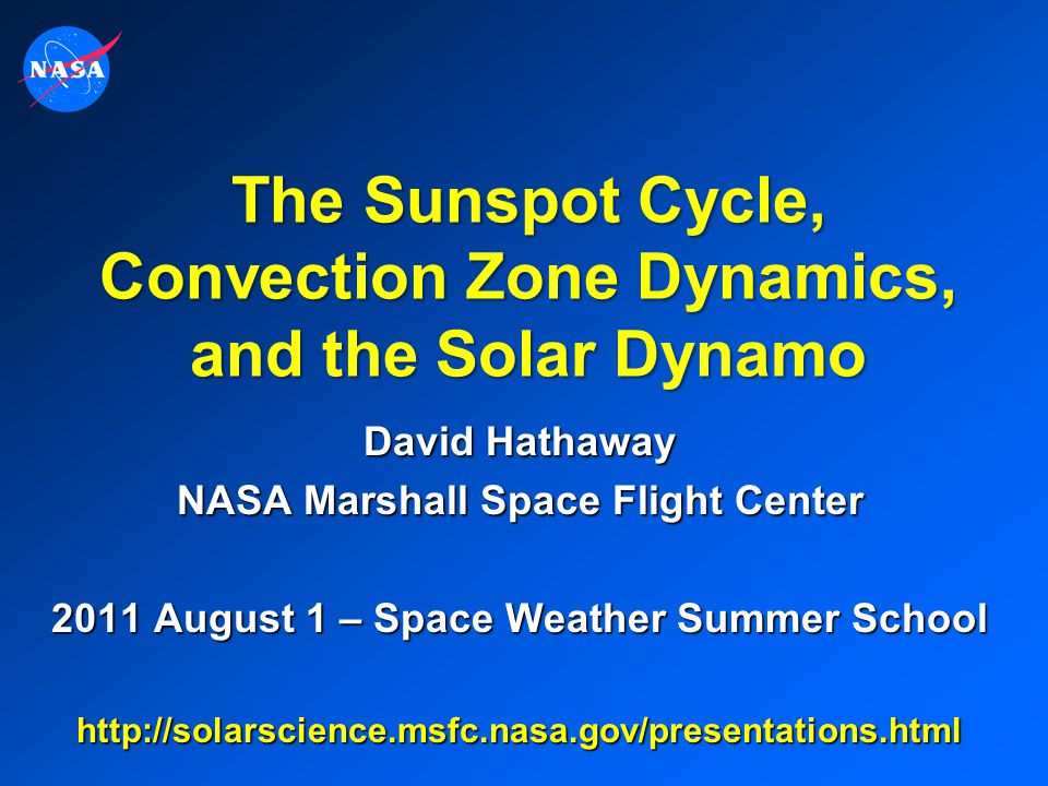 The Sunspot Cycle, Convection Zone Dynamics, and the Solar Dynamo