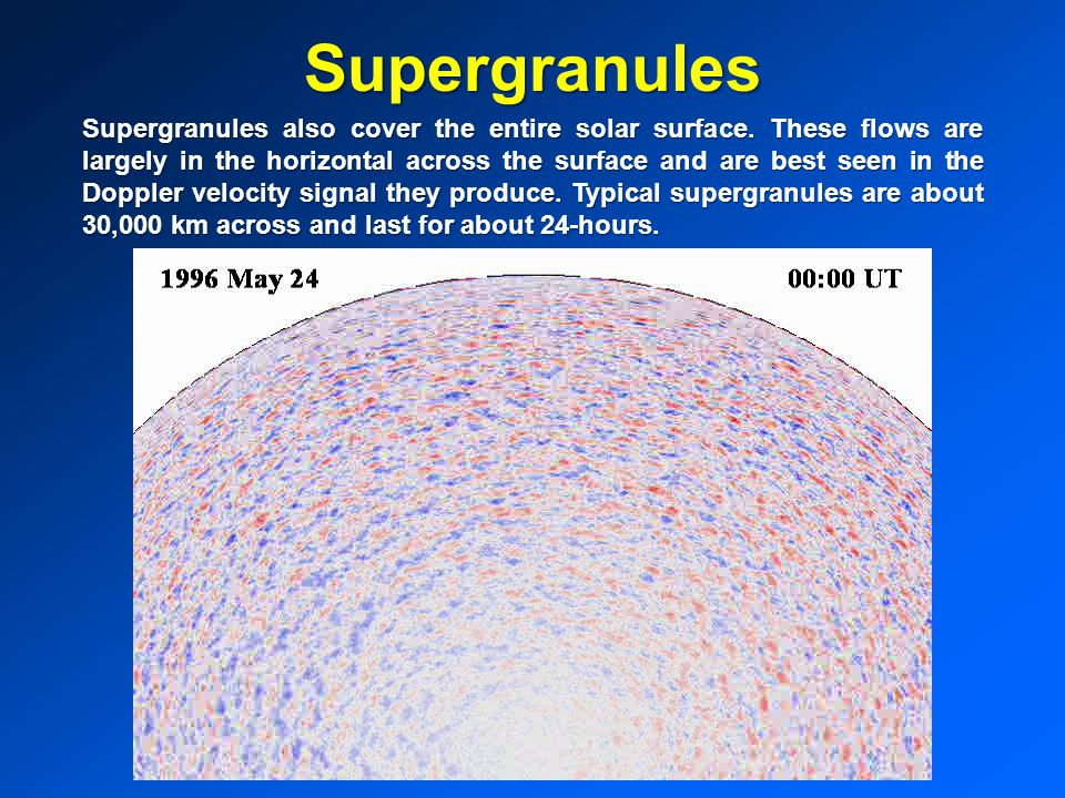 Supergranules