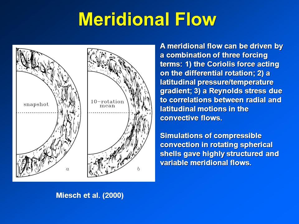 Meridional Flow
