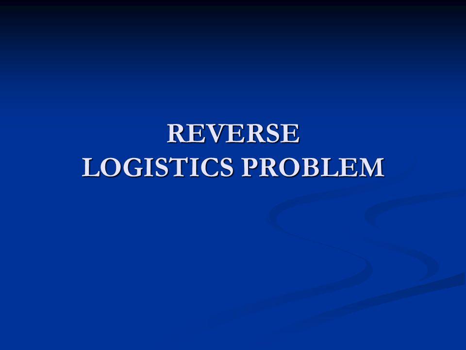 REVERSE LOGISTICS PROBLEM