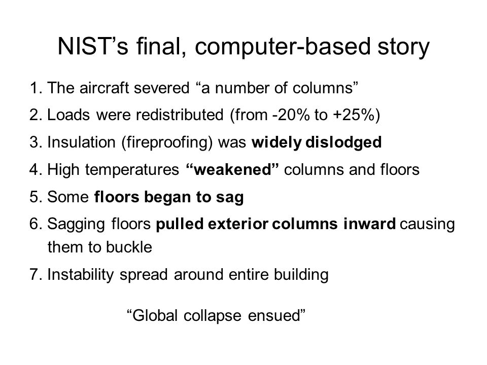NIST's final, computer-based story