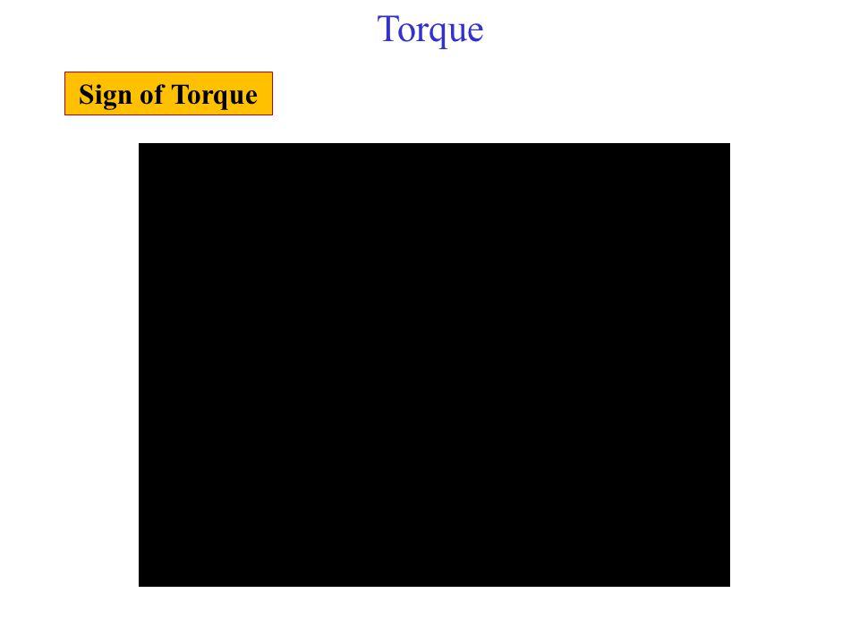 Torque Sign of Torque