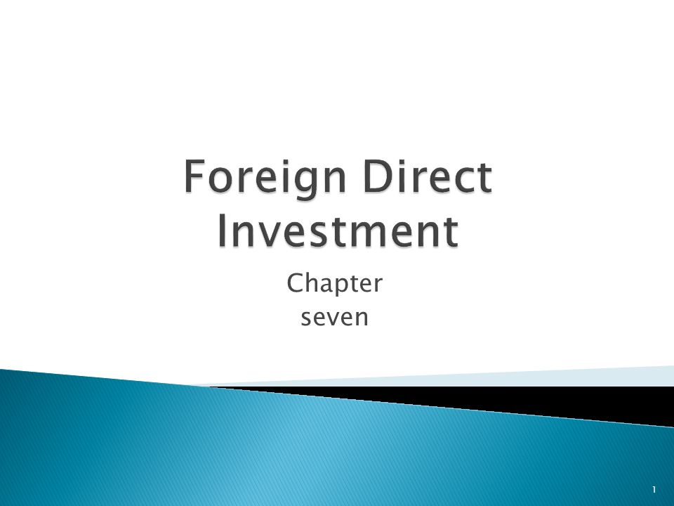 foreign direct investment political ideologies El salvador: political and economic conditions and us relations cafta-dr countries: net foreign direct investment (2000-2011) 13 tables table 1 u.