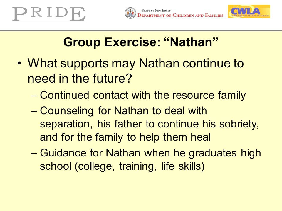 Group Exercise: Nathan