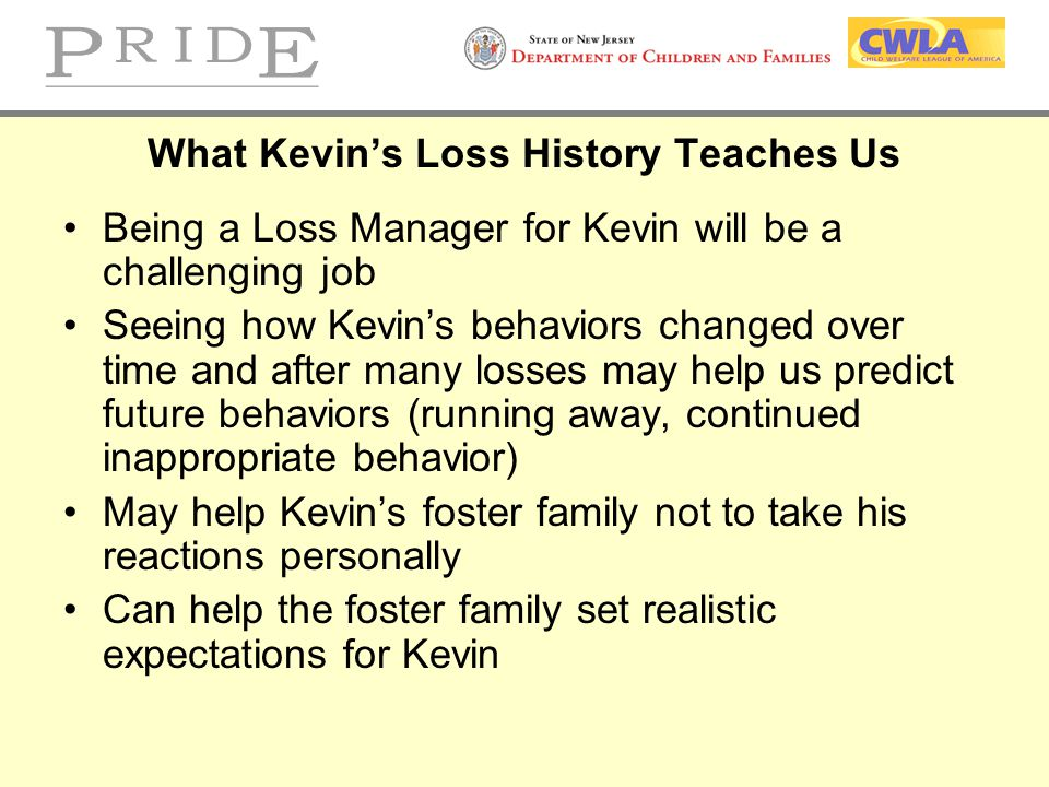 What Kevin's Loss History Teaches Us