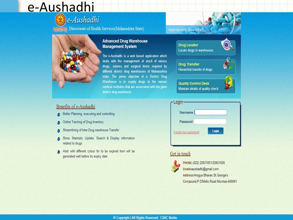 e-Aushadhi