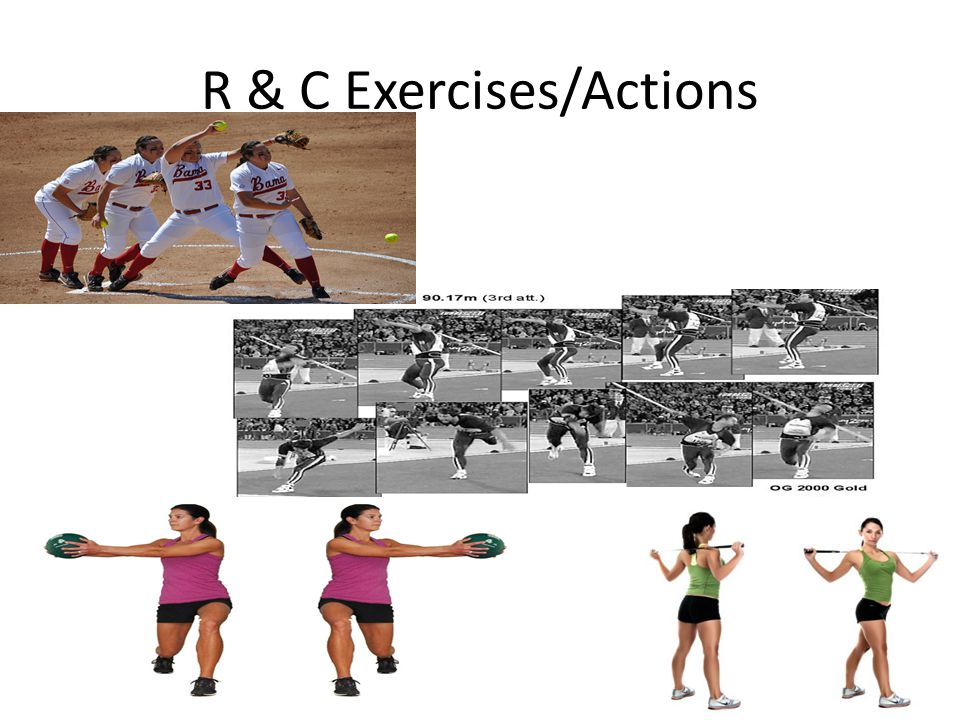 R & C Exercises/Actions