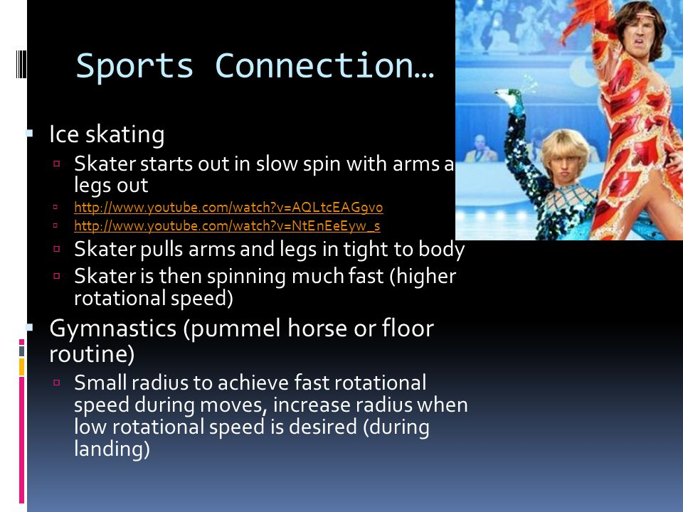 Sports Connection… Ice skating