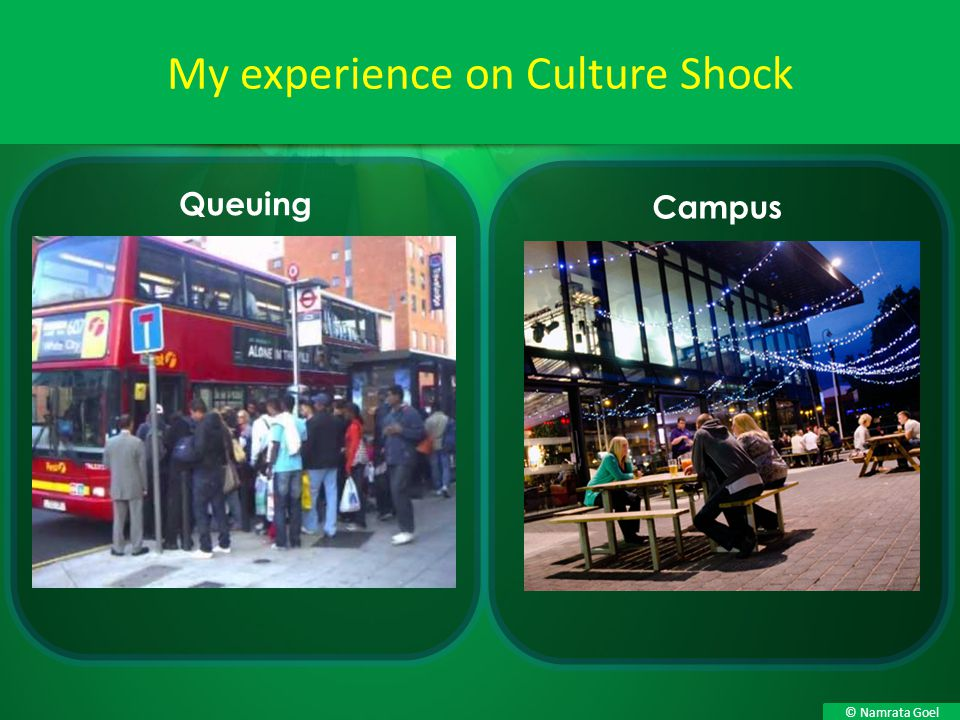 My experience on Culture Shock