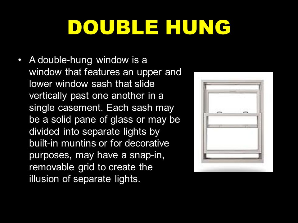 DOUBLE HUNG