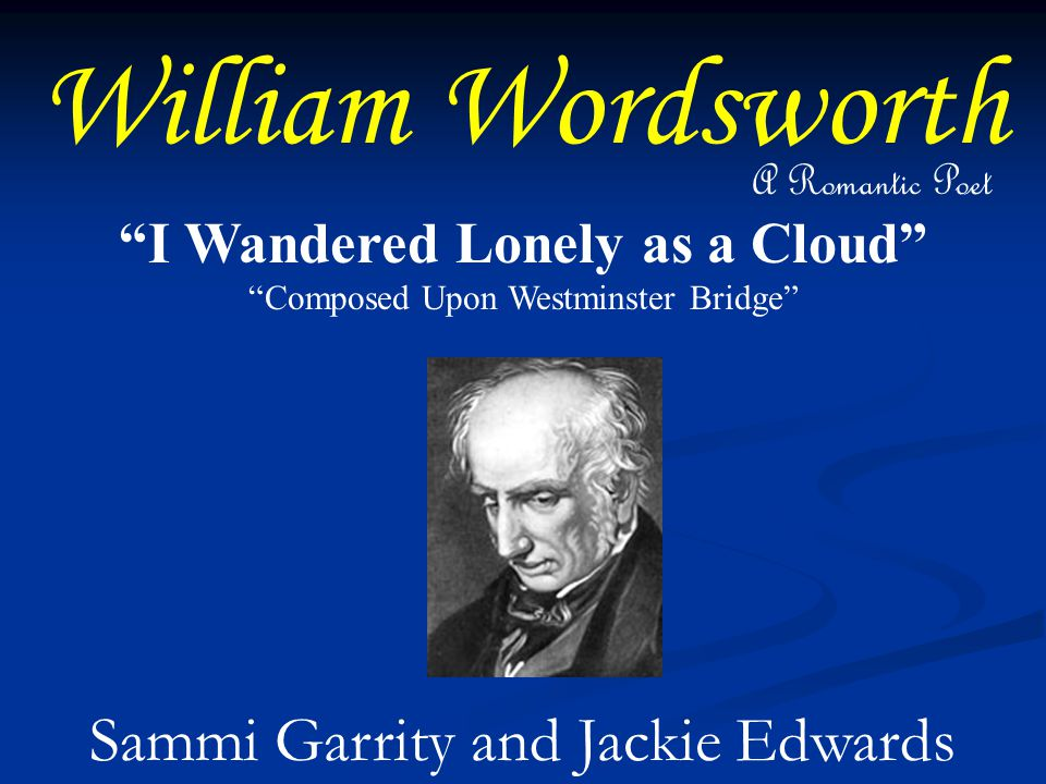 william wordsworth essay nature