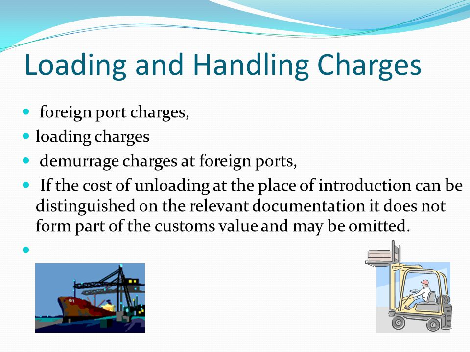 Loading and Handling Charges