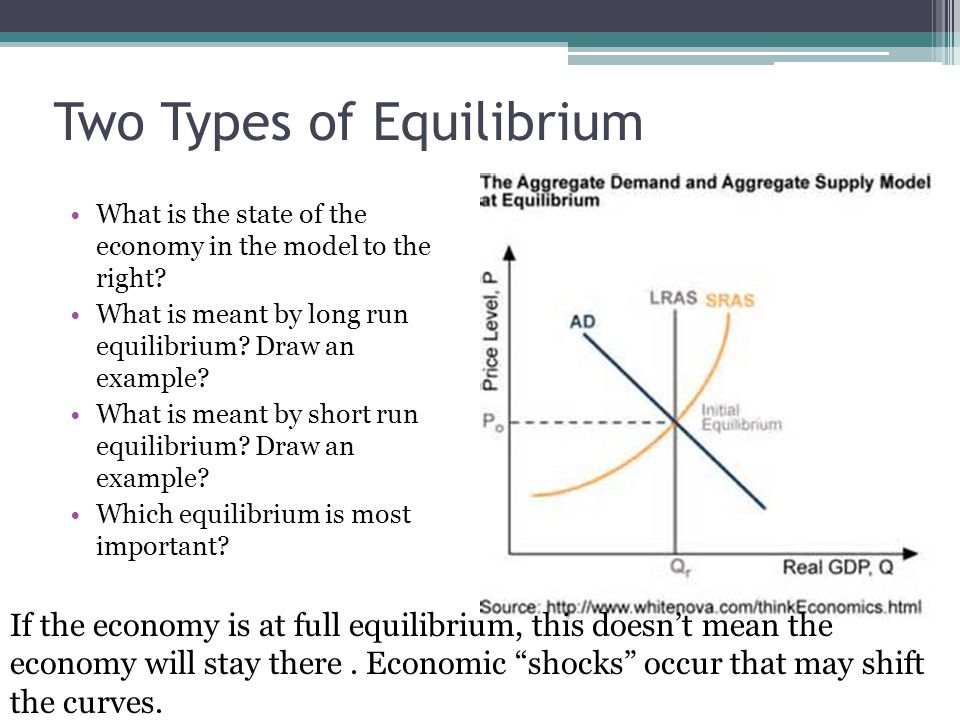 Two Types of Equilibrium