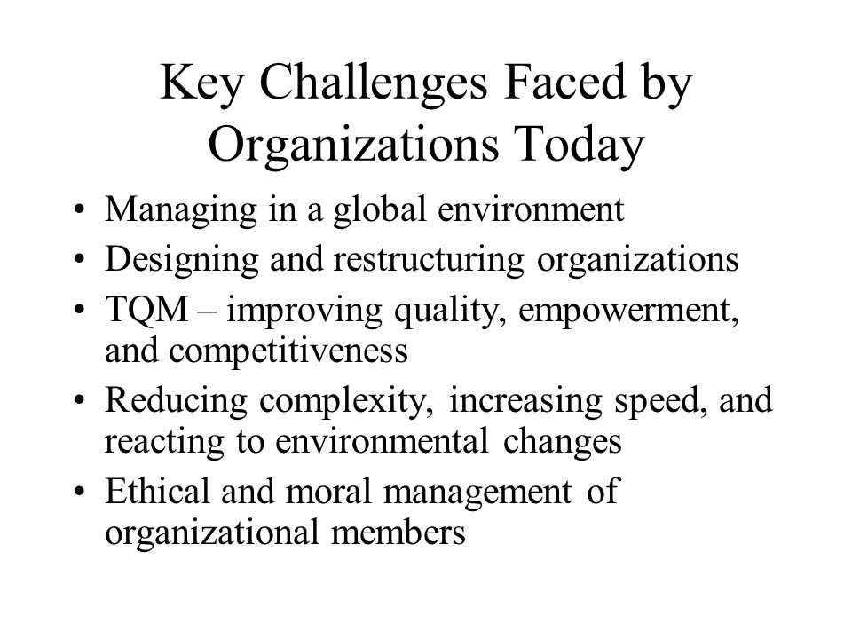 challenges faced by modern managers of 1 challenges facing today's construction manager by bob muir, pe introduction there are numerous challenges facing today's construction manager.
