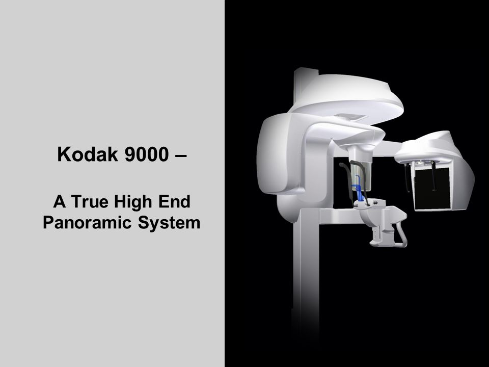 Kodak 9000 – A True High End Panoramic System