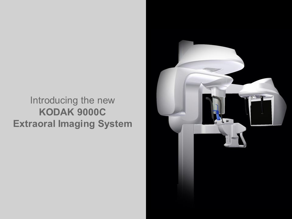 Introducing the new KODAK 9000C Extraoral Imaging System