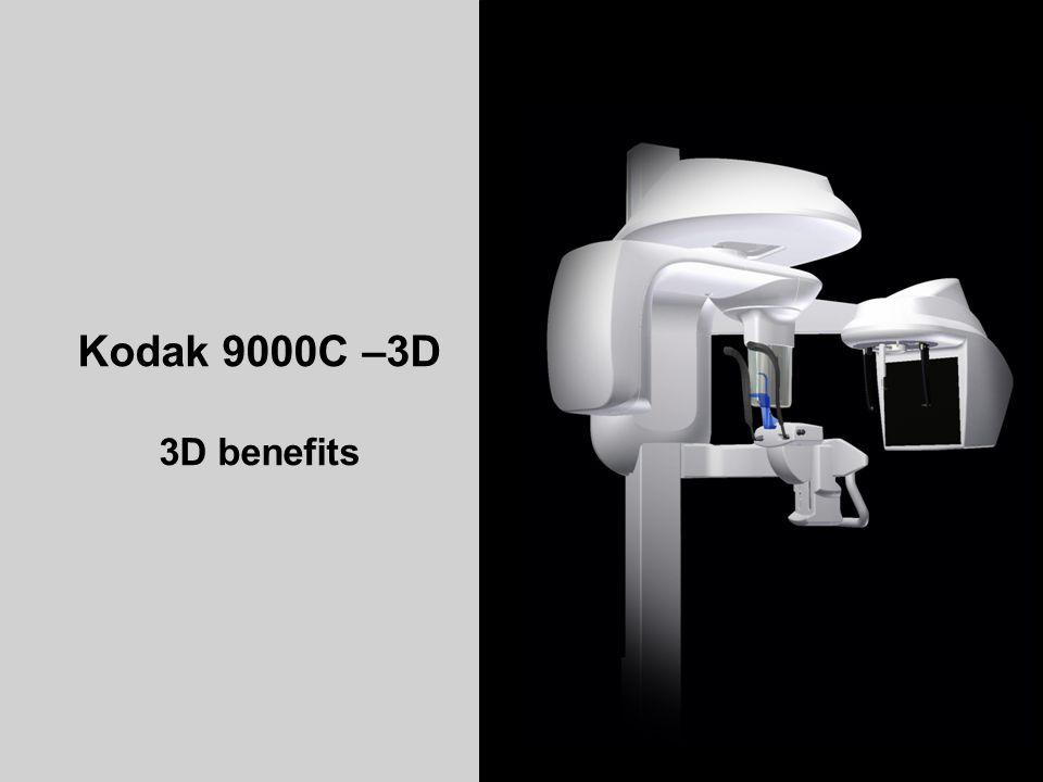 Kodak 9000C –3D 3D benefits