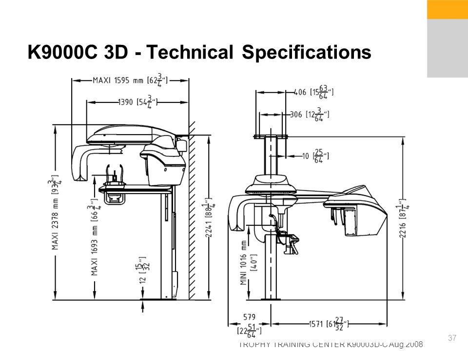 K9000C 3D - Technical Specifications