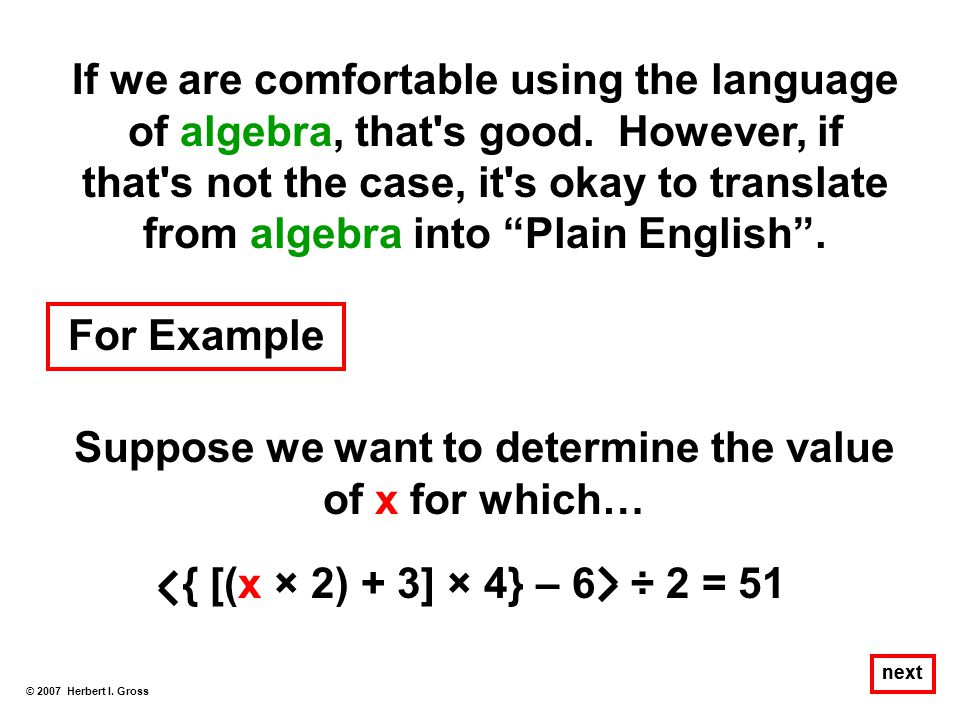 Suppose we want to determine the value of x for which…