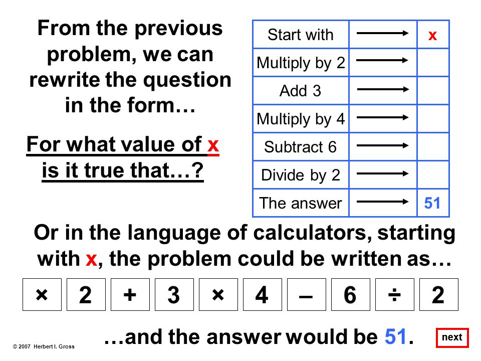From the previous problem, we can rewrite the question in the form…