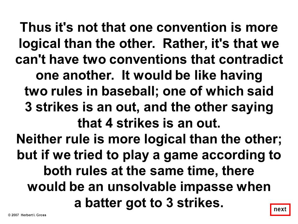 two rules in baseball; one of which said