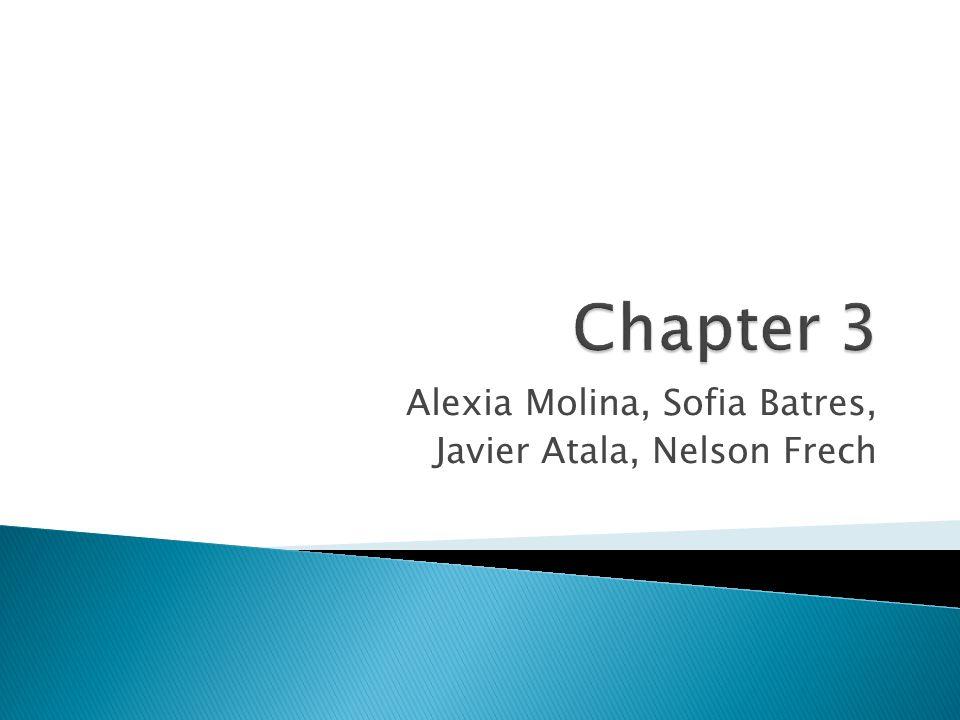 Alexia Molina, Sofia Batres, Javier Atala, Nelson Frech
