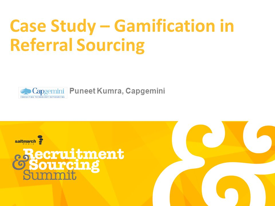 Case Study – Gamification in Referral Sourcing