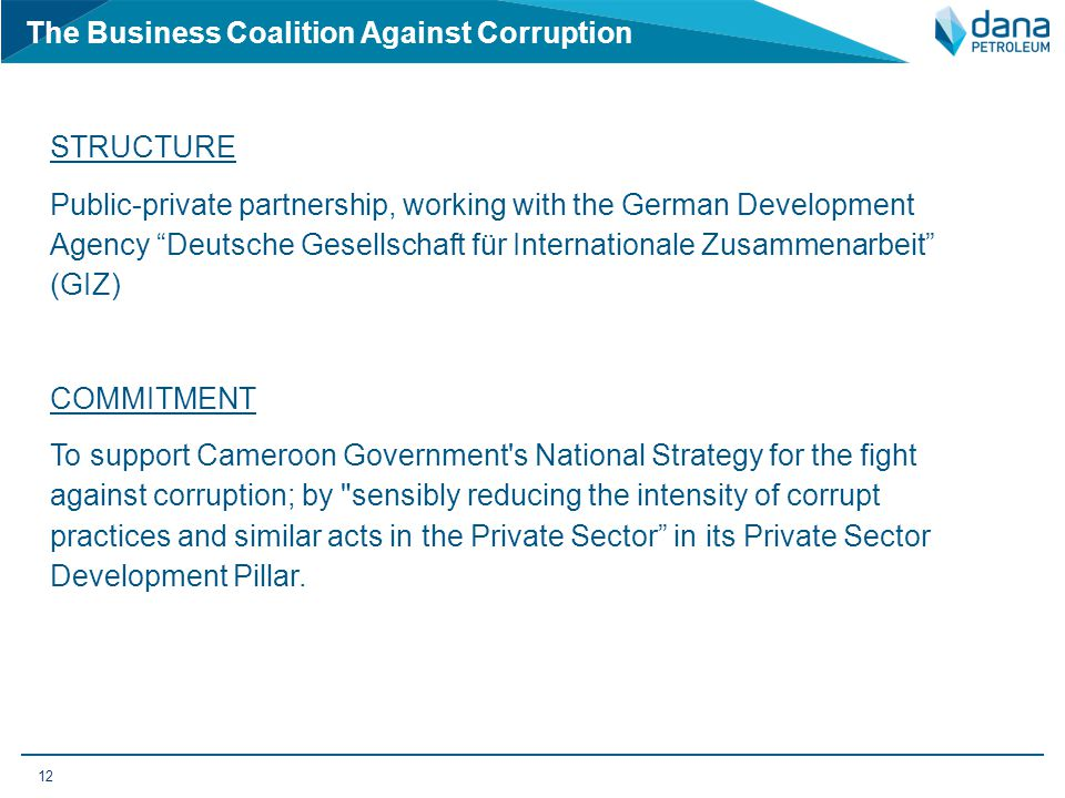 The Business Coalition Against Corruption