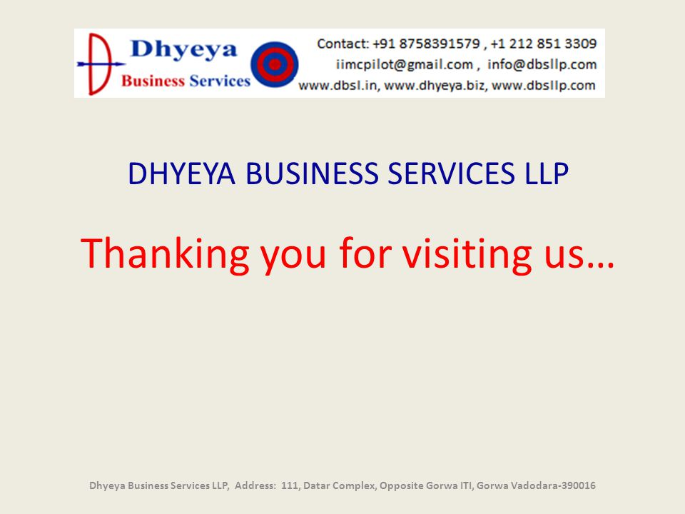 Thanking you for visiting us…