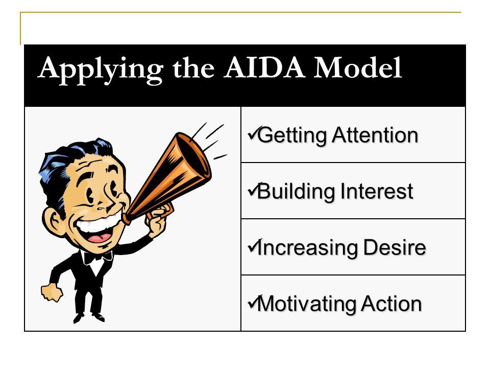 Applying the AIDA Model