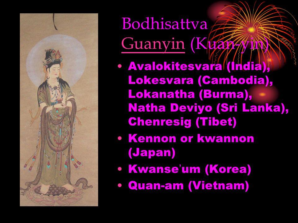 Bodhisattva Guanyin (Kuan-yin)