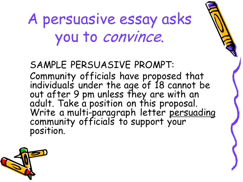 mastering the writing hspe ppt  a persuasive essay asks you to convince