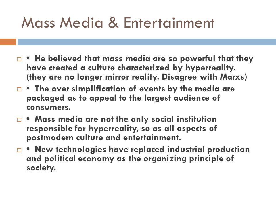 Mass Media & Entertainment