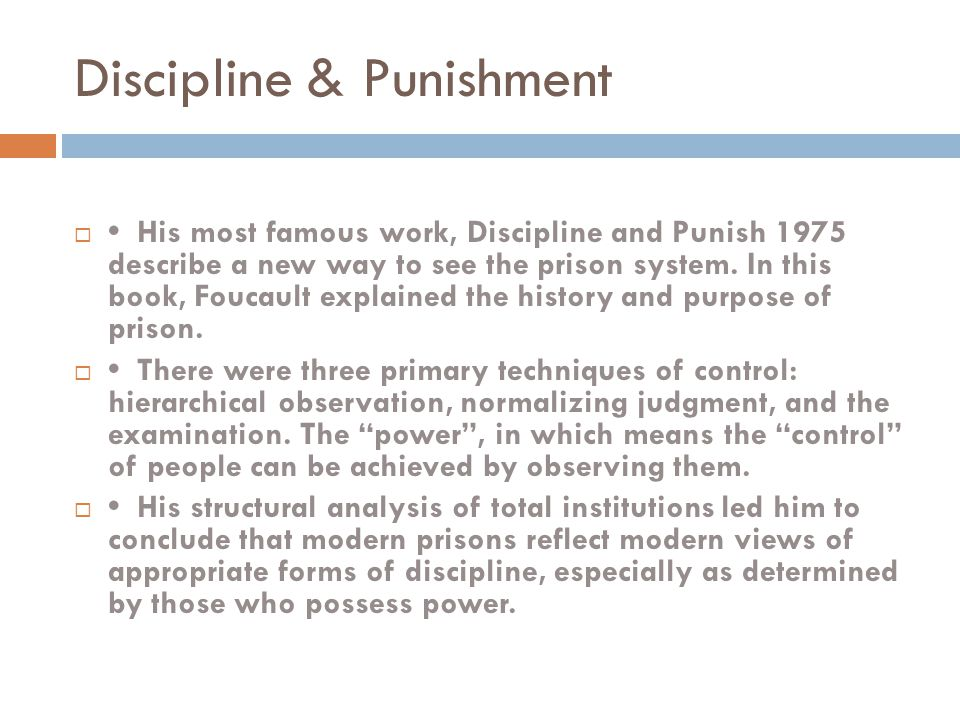 purpose and history of punishment University of phoenix material purpose and history paper write a 700- to 1,050-word paper that examines the purpose and history of penitentiaries include.