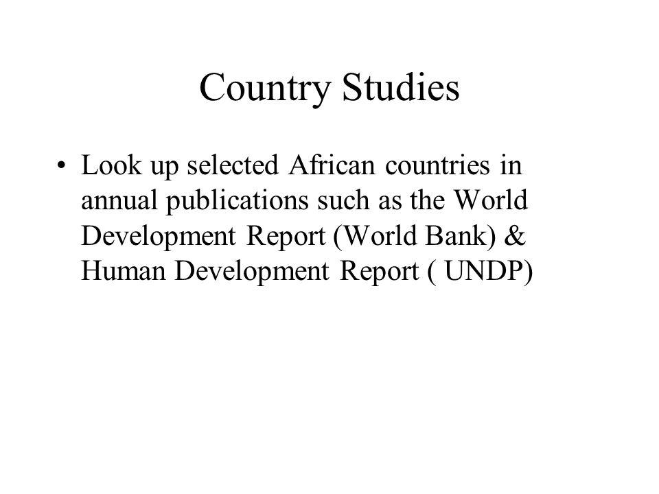 Country Studies
