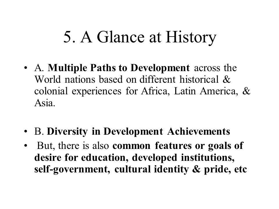 5. A Glance at History