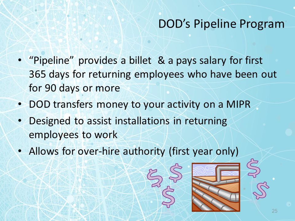 DOD's Pipeline Program