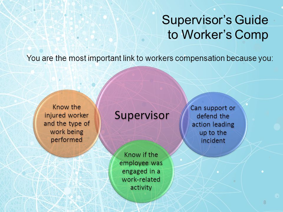 Supervisor's Guide to Worker's Comp