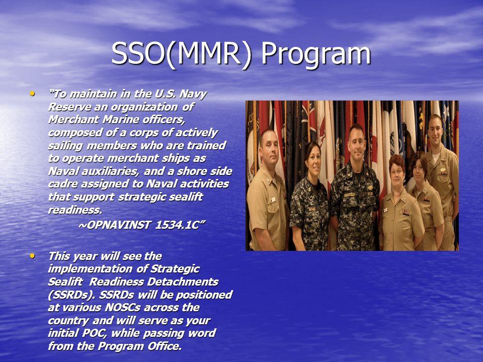 SSO(MMR) Program