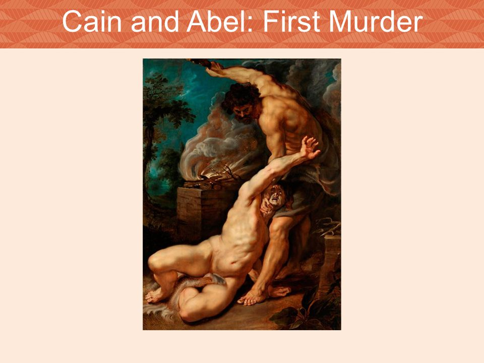 Cain and Abel: First Murder