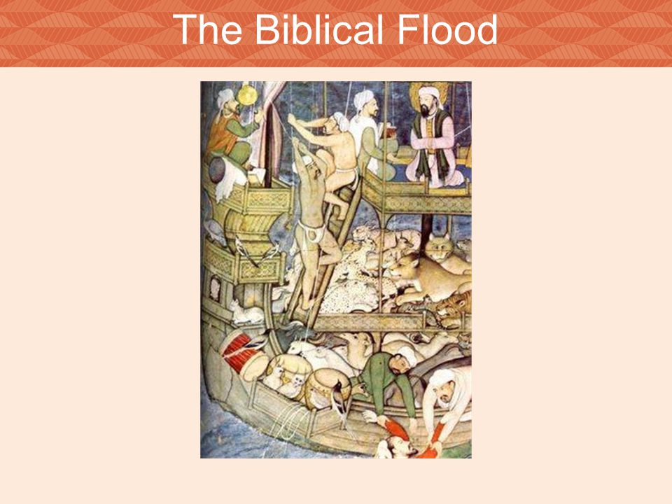 The Biblical Flood