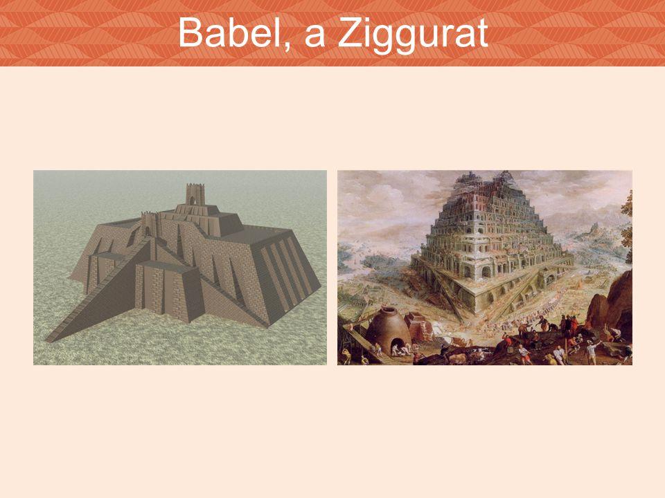 Babel, a Ziggurat