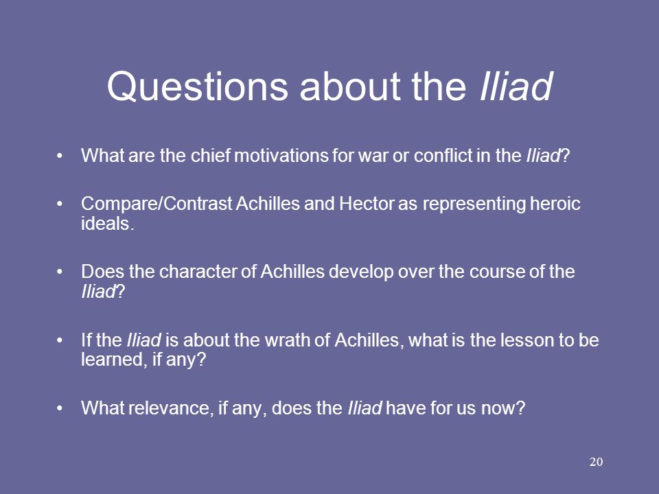 Difference Between Iliad and Odyssey