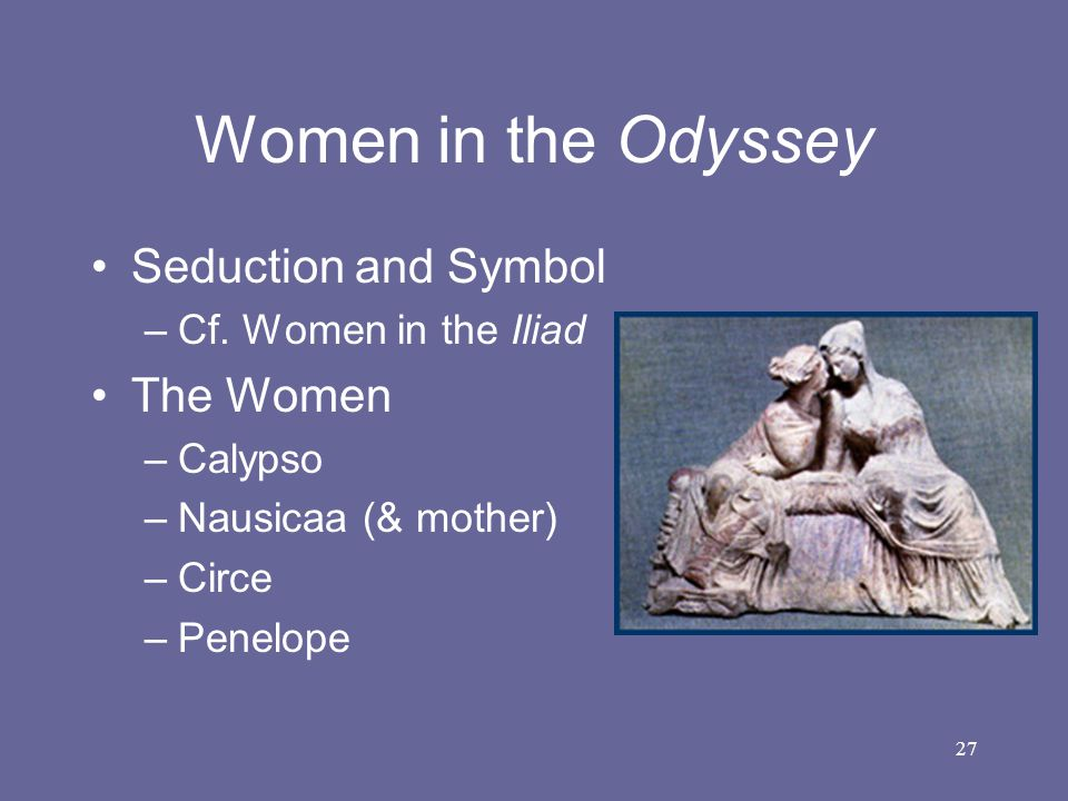 Women in the Odyssey Seduction and Symbol The Women
