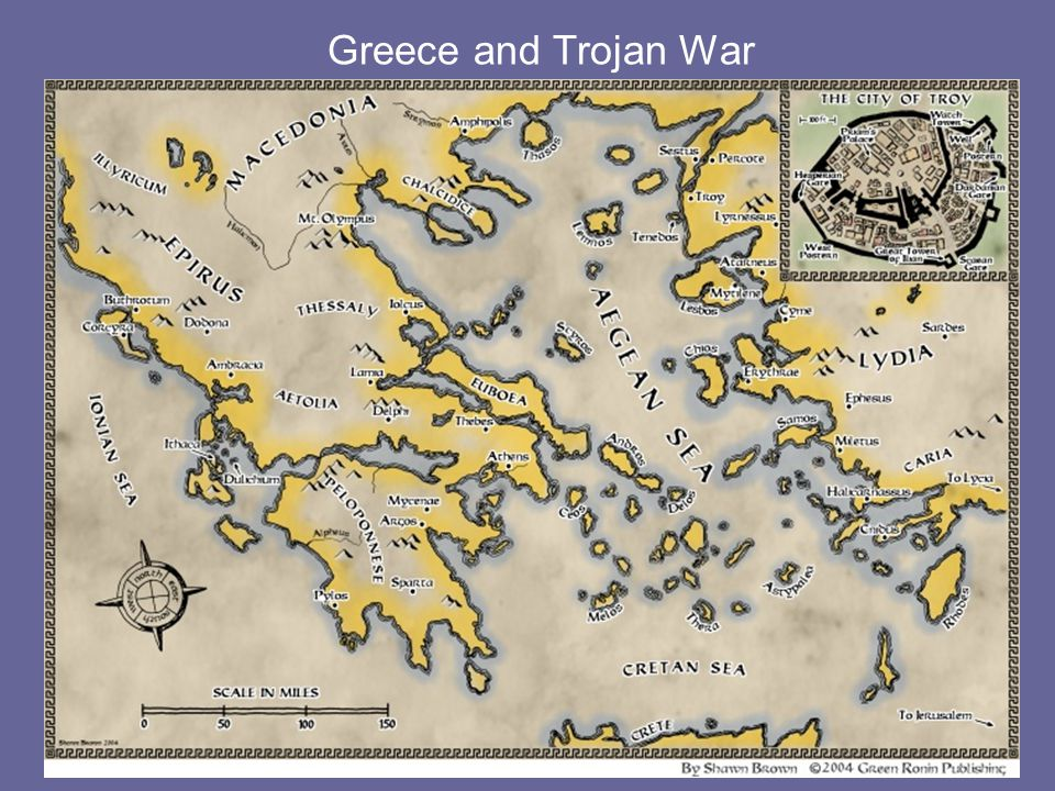 Greece and Trojan War