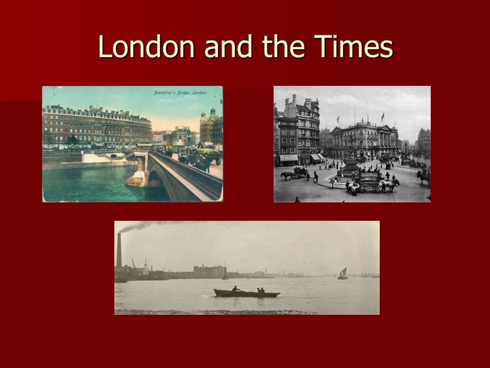 London and the Times