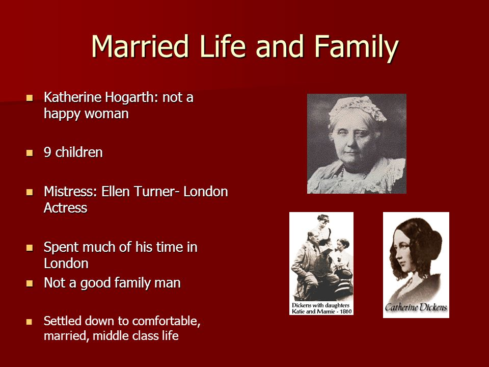 Married Life and Family