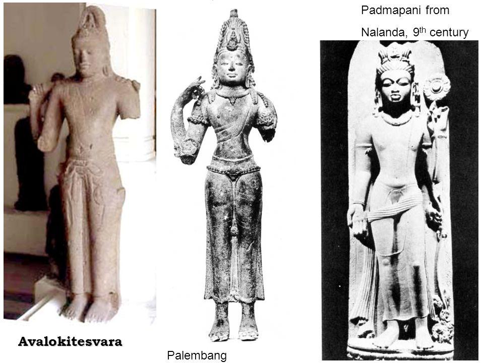 Padmapani from Nalanda, 9th century Avalokitesvara Palembang